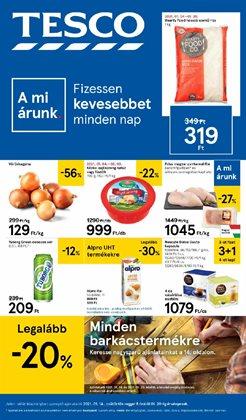 Hiper-Szupermarketek kínálatok Tesco katalógusában, Győr ( 4 nap )