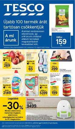 Hiper-Szupermarketek kínálat Tesco katalógusában, ( 4 nap)