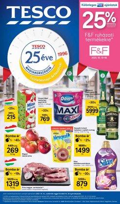 Hiper-Szupermarketek kínálat Tesco katalógusában, ( 3 nap)