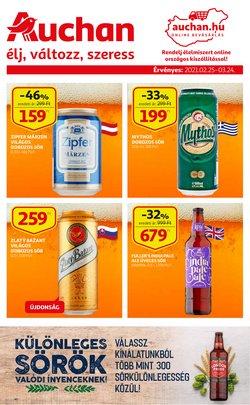 Auchan katalógus ( 25 nap)