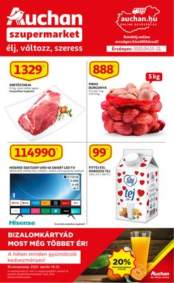 Auchan katalógus ( 2 nap )