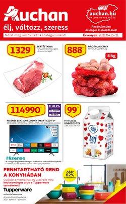 Auchan katalógus ( Most közzé téve )