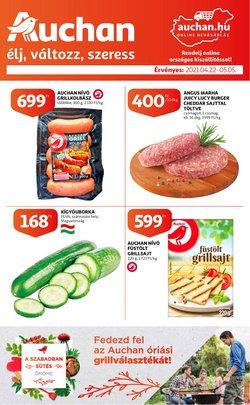 Auchan katalógus ( Közzétéve ma )