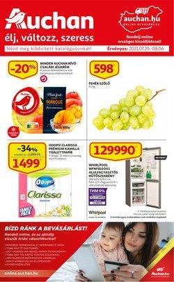 Auchan kínálat Auchan katalógusában, ( Most közzé téve)