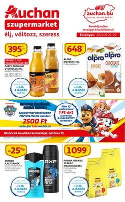 Hiper-Szupermarketek kínálat Auchan katalógusában, ( 4 nap)