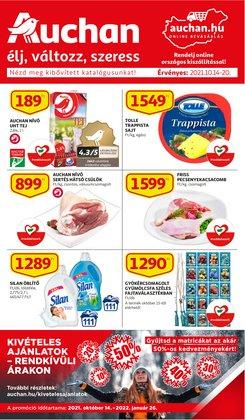 Hiper-Szupermarketek kínálat Auchan katalógusában, ( 3 nap)