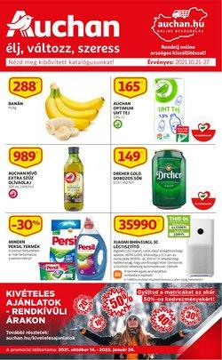 Hiper-Szupermarketek kínálat Auchan katalógusában, ( hamarosan lejár)