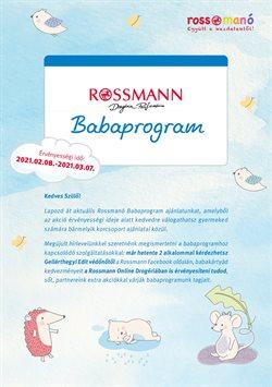 Rossmann katalógus ( 9 nap )