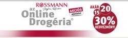 Rossmann kupon ( 3 nappal ezelőtt )