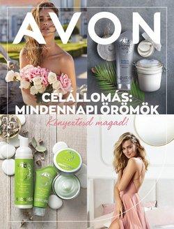 Gyógyszertárak és szépség kínálat AVON katalógusában, ( 5 nap)