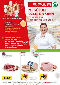Hiper-Szupermarketek kínálat Spar katalógusában, ( 2 nap )