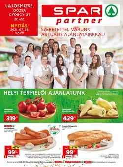 Hiper-Szupermarketek kínálat Spar katalógusában, ( Holnap lejár)