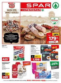 Hiper-Szupermarketek kínálat Spar katalógusában, ( 4 nap)