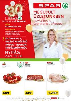 Hiper-Szupermarketek kínálat Spar katalógusában, ( Most közzé téve)
