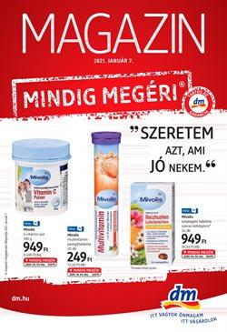 Gyógyszertárak és szépség kínálatok DM katalógusában, Sajószentpéter ( 7 nap )