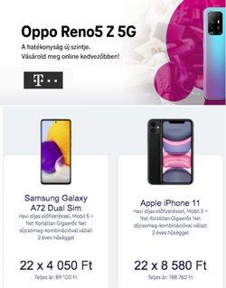 Elektronika kínálat T-Mobile katalógusában, ( 10 nap)