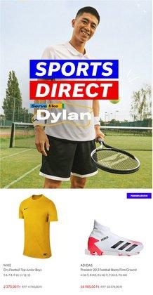 Sport kínálat Sports Direct katalógusában, ( 11 nap)