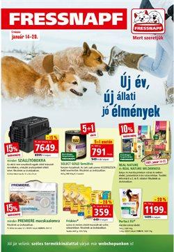 Hiper-Szupermarketek kínálatok Fressnapf katalógusában, Győr ( 2 nappal ezelőtt )