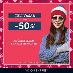 Gyógyszertárak és szépség kínálatok Vision Express katalógusában, Sajószentpéter ( 14 nap )