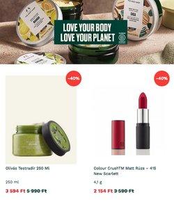 Body Shop kínálat Body Shop katalógusában, ( 12 nap)