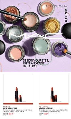 Gyógyszertárak és szépség kínálat MAC Cosmetics katalógusában, ( 15 nap)