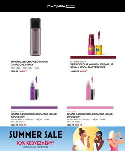 Gyógyszertárak és szépség kínálat MAC Cosmetics katalógusában, ( Holnap lejár)