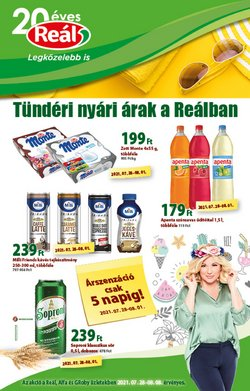 Hiper-Szupermarketek kínálat Real katalógusában, ( Most közzé téve)