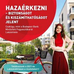Bankokba és szolgáltatások kínálat Budapest Bank katalógusában, ( 18 nap)
