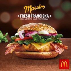 McDonald's katalógus ( Több mint egy hónap )