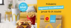 McDonald's kupon ( 7 nap )