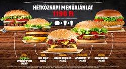 Burger King katalógus ( 17 nap )