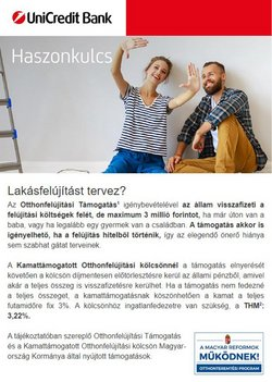 Unicredit Bank katalógus ( 11 nap )