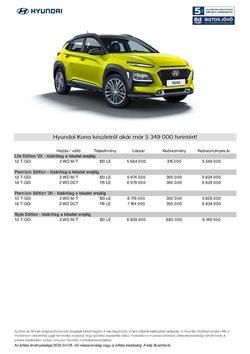 Autók, motorkerékpárok és alkatrészek kínálat Hyundai katalógusában, ( Több mint egy hónap )