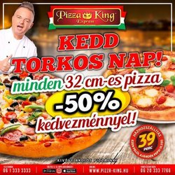 Pizza King katalógus ( 11 nap )