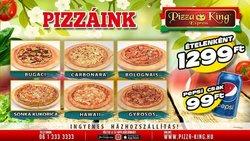 Pizza King katalógus ( 18 nap )