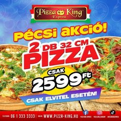 Éttermek kínálat Pizza King katalógusában, ( 15 nap)