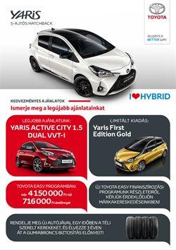 Toyota katalógus ( Több mint egy hónap )