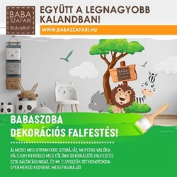 Babaszafari katalógus ( 2 nappal ezelőtt )