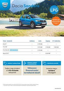 Dacia katalógus ( Közzétéve ma )