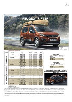 Peugeot katalógus ( Közzétéve ma )