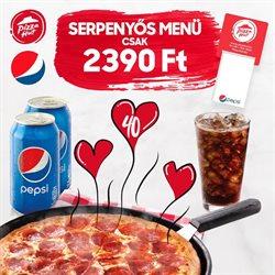 Pizza Hut katalógus ( Közzétéve ma )