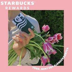 Starbucks kínálat Starbucks katalógusában, ( Több mint egy hónap)