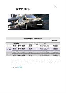 Citroën kínálat Citroën katalógusában, ( Több mint egy hónap)