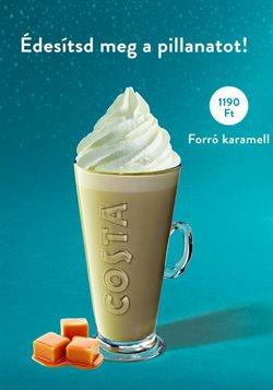 Éttermek kínálatok Costa Coffee katalógusában, Sajószentpéter ( 27 nap )