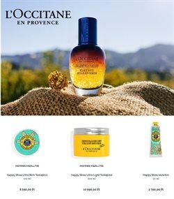 Gyógyszertárak és szépség kínálatok L'Occitane katalógusában, Sajószentpéter ( 7 nap )