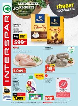 Hiper-Szupermarketek kínálatok Interspar katalógusában, Győr ( 4 nap )