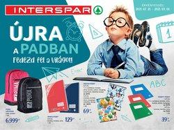 Interspar kínálat Interspar katalógusában, ( Több mint egy hónap)
