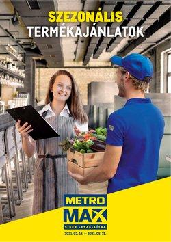 Metro katalógus, Budapest ( Több mint egy hónap )