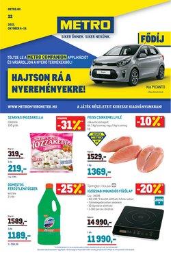 Hiper-Szupermarketek kínálat Metro katalógusában, ( 3 nap)