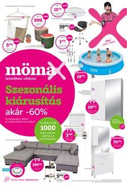 Otthon, kert és barkácsolás kínálat Mömax katalógusában, ( 4 nap)